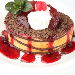 Gateau fruits rouges